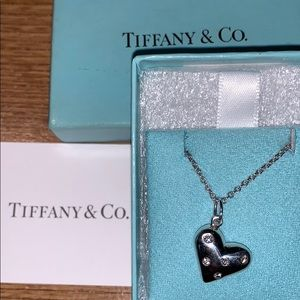 Tiffany & Co. Diamond Heart Necklace